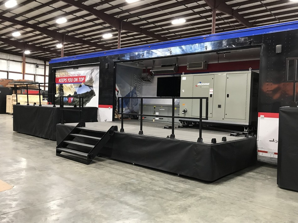 Modine Manufacturing will be in St. Louis, Missouri, on September 10 and 11 from 11:30 a.m. to 4:00 p.m., at Ballpark Village for its sixth stop on the 2019 Innovation Tour.