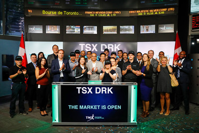 TSX DRK Opens the Market (CNW Group/TMX Group Limited)