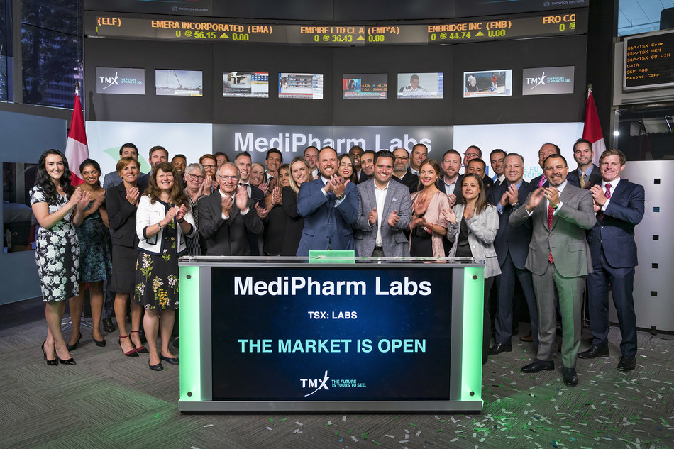 MediPharm Labs Corp. Opens the Market (CNW Group/TMX Group Limited)
