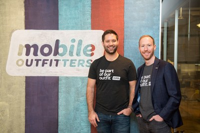Eric Griffin and Dennis O'Donnell, co-founders of Mobile Outfitters.