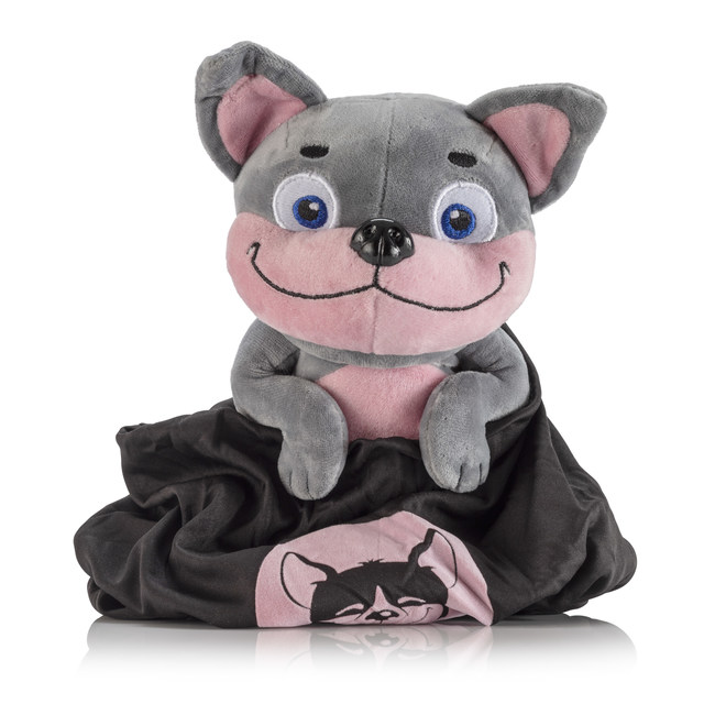Belly-Rub Pups are adorable plush toys that provide a fun and unique method of stress-relief for users of all ages