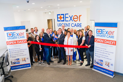 Exer Urgent Care opens new medical facility in Westwood.