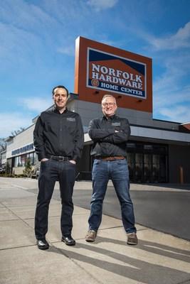 Ben Rosen, and his Father, Stewart of Norfolk Hardware in Boston, MA