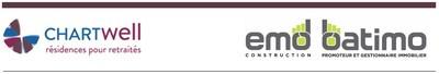 Logo : Chartwell - EMD Batimo (Groupe CNW/Chartwell, résidences pour retraités)