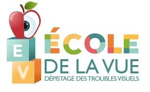 Logo : École de la vue (Groupe CNW/Fondation des maladies de l'oeil)