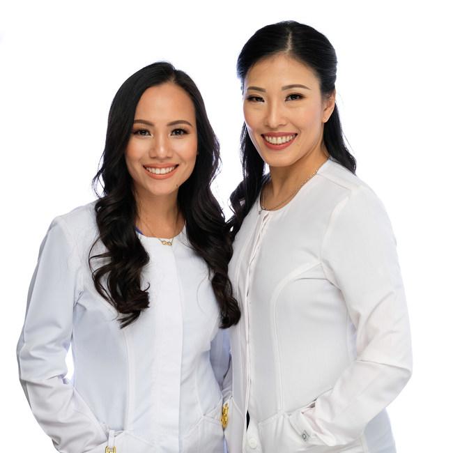 Dr. Janice Doan and Dr. Justene Doan