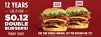 Smashburger® Celebrates 12th Anniversary with 12 Cent Burgers for All