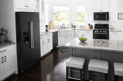 Maytag Introduces New Cast Iron Black Finish for Kitchen Appliances