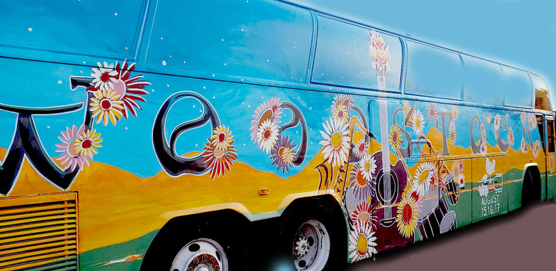 The Woodstock Magic Bus: Traveling Museum of Music