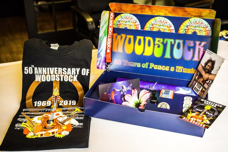 Woodstock Nation's Limited Edition Box Set Celebrating the 50th Anniversary of Woodstock.