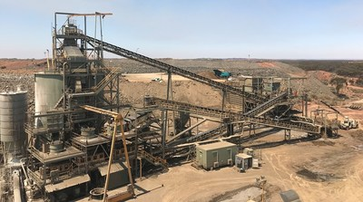 Figure 2: Crushing Facility, RNC's HGO Operations, Western Australia (CNW Group/RNC Minerals)