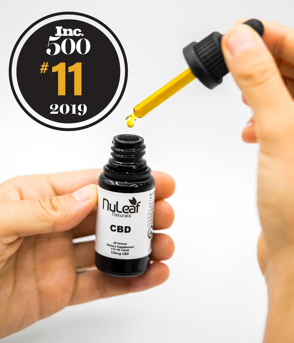 CBD Oil Manufacturer NuLeaf Naturals Ranks Number 11 on the
