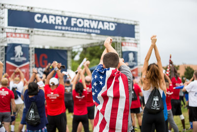 Celebrities are supporting wounded veterans and their families through Carry Forward 5k Events