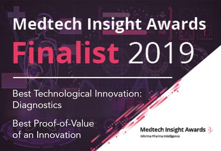 Medtech Insight Awards 2019; Best Technological Innovation: Diagnostics (BardyDx); Best Proof-of-Value of an Innovation (BardyDx)