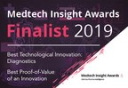 Bardy Diagnostics™ Selected As Finalist For Two MedTech Insight Awards To Be Announced At AdvaMed's Annual MedTech Conference