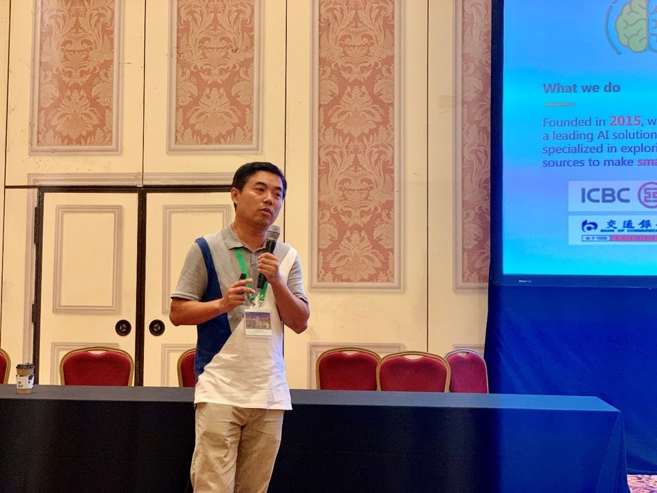 Dr. Lingyun Gu, founder, chairman, and CEO of IceKredit, Inc., was invited to give a speech in IJCAI