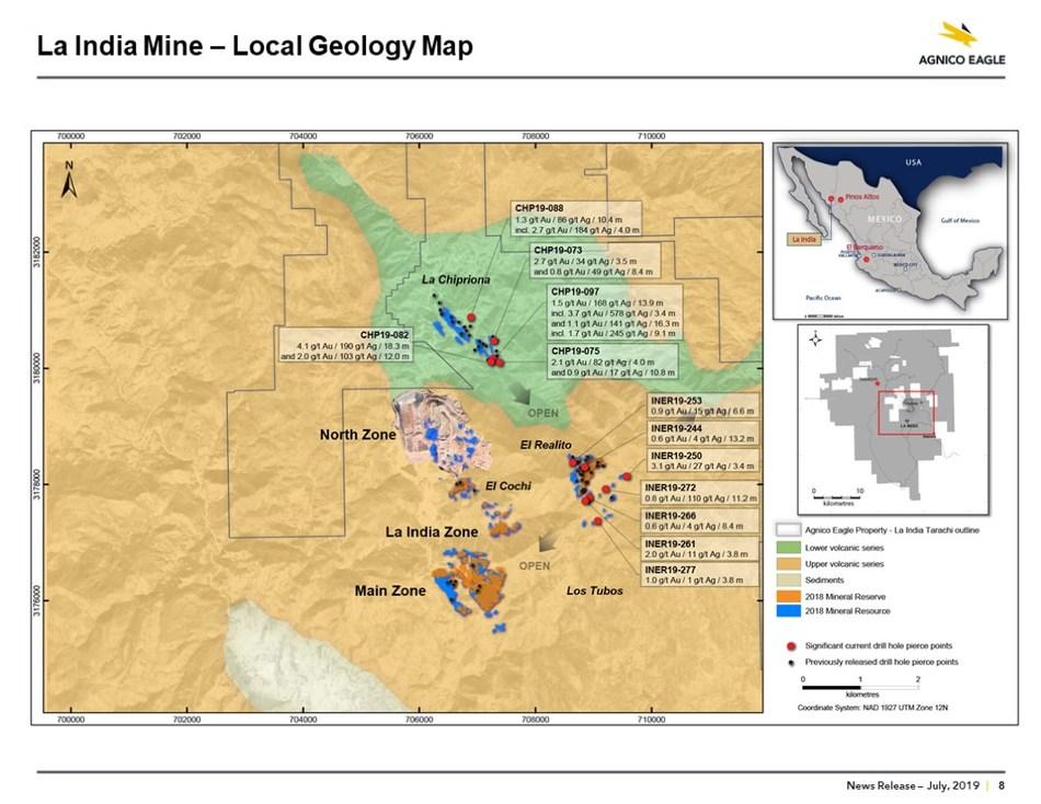 El Realito Map (CNW Group/Metalla Royalty and Streaming Ltd.)