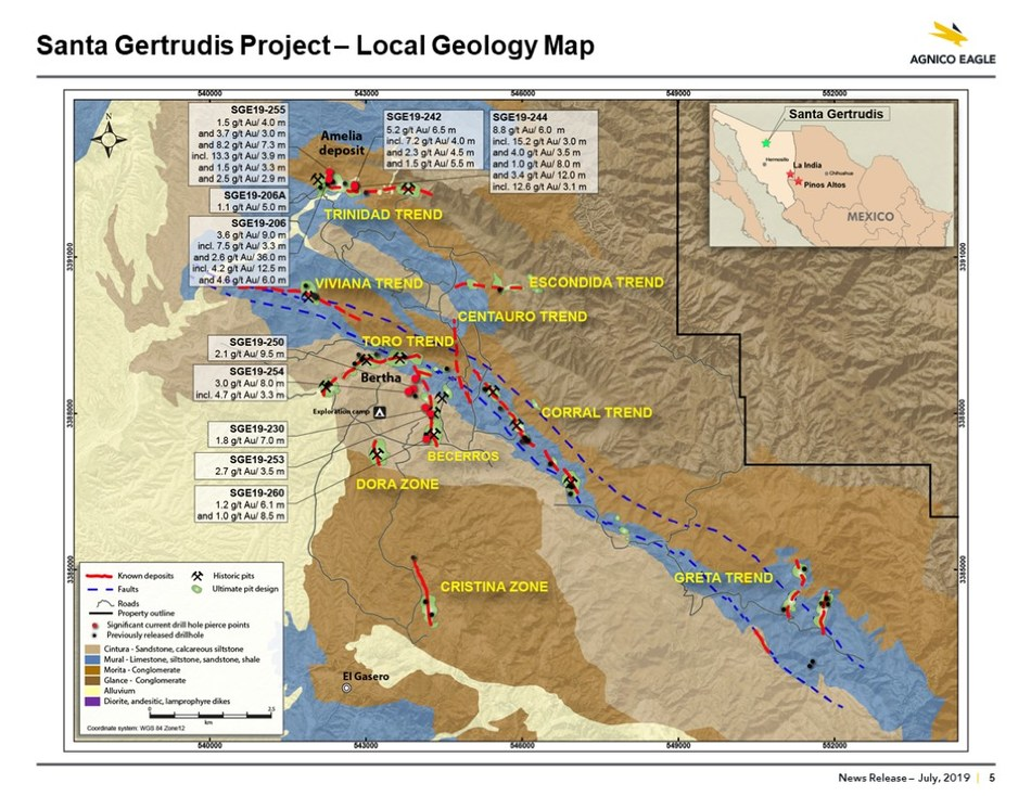 Santa Gertrudis Map (CNW Group/Metalla Royalty and Streaming Ltd.)