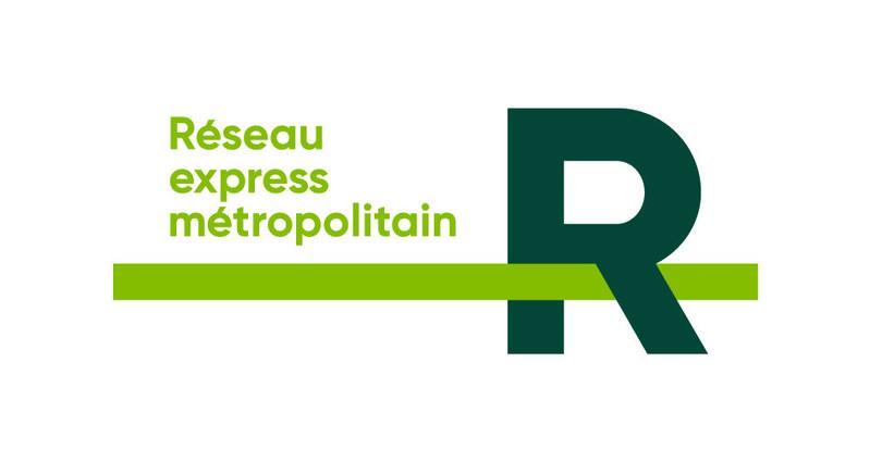 Logo: Réseau express métropolitain (CNW Group/TOWN OF MOUNT ROYAL)
