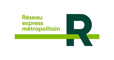 Logo : Réseau express métropolitain (Groupe CNW/Ville de Mont-Royal)