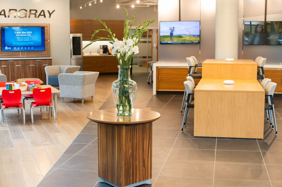 Hargray Opens a New Sales and Service Center on Hilton Head Island, SC, featuring interactive displays, education center, and Community Room.