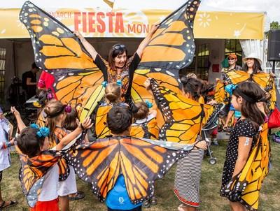 Fiesta Monarque à Espace pour la vie (Mathieu Rivard) (Groupe CNW/Espace pour la vie)