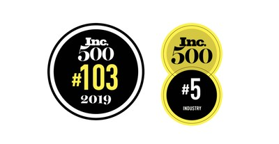 Invictus Ranks No 103 on Inc 500 List of America's Fastest Growing Companies