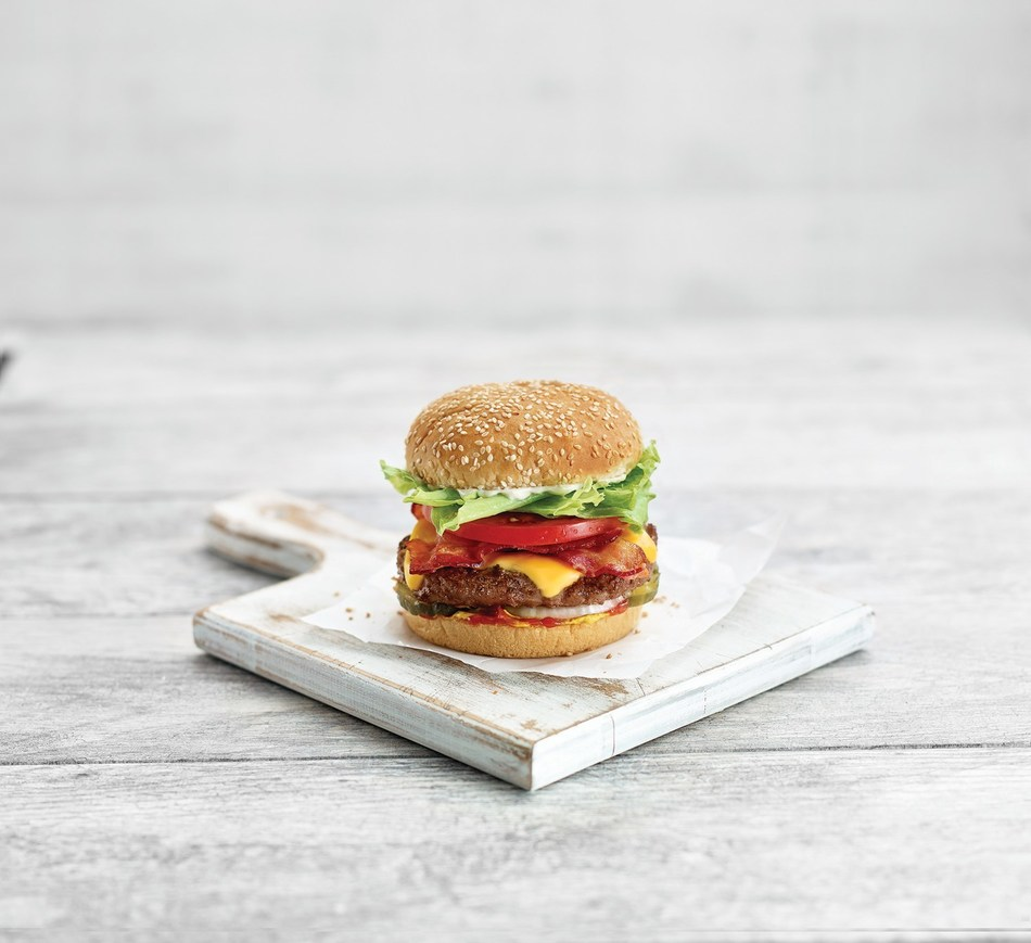 Thursday, August 22 is Burgers to Beat MS Day. On this day, A&W Canada will donate $2 from every Teen Burger® sold to the MS Society of Canada. (CNW Group/A&W Food Services of Canada Inc.)