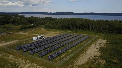 Giizis Energy Solar Storage Micro Grid, Gull Bay First Nation (CNW Group/Ontario Power Generation Inc.)