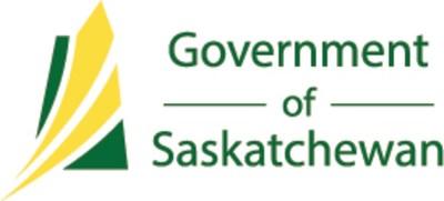 Logo : Government de Saskatchewan (Groupe CNW/Société canadienne d'hypothèques et de logement)
