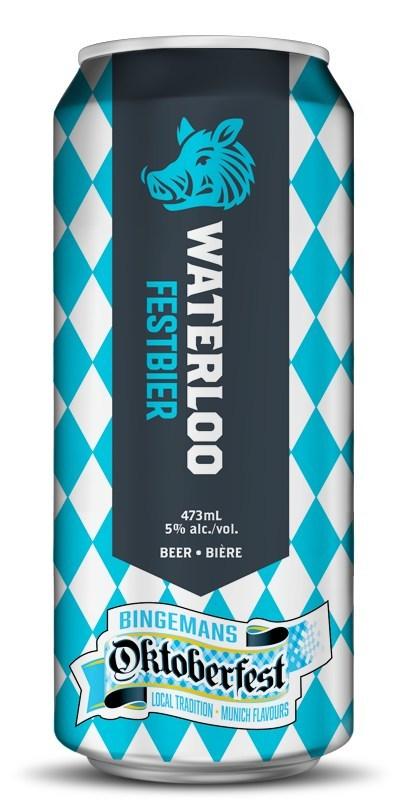 Waterloo Festbier (CNW Group/Waterloo Brewing Ltd.)