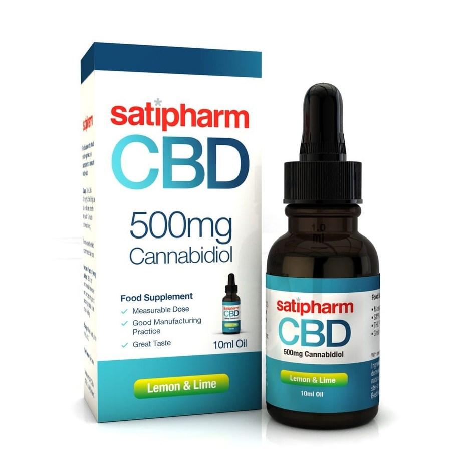 Satipharm CBD Oil (CNW Group/Harvest One Cannabis Inc.)