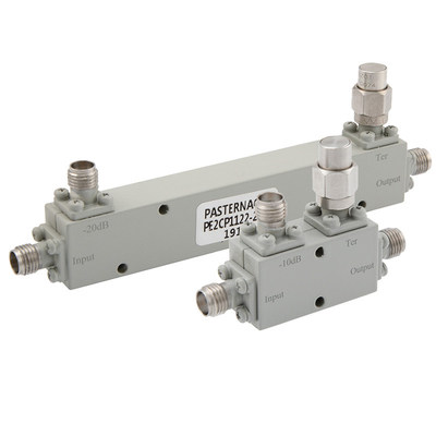 Pasternack Debuts New Line of High Frequency Couplers with Low Insertion Loss and Low Return Loss