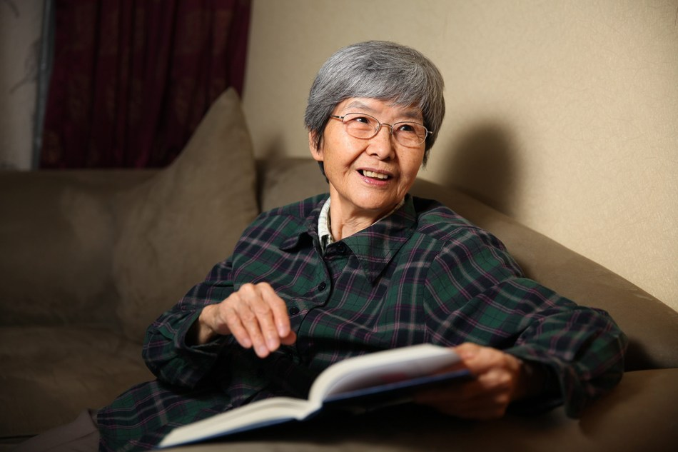 A rare woman in her field, Ms. Fan Jinshi has overcome many social and financial challenges; and remained heroically committed to the preservation of the Mogao Grottoes in Dunhuang, China for 56 years. (PRNewsfoto/LUI Che Woo Prize Limited)