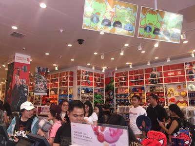 Marvel x MINISO launch at Hollywood store in US