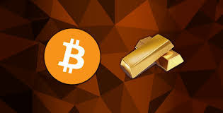 Gold and Bitcoin are both seen as hedges against market uncertainty and paper currency decline