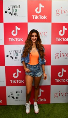 Disha Patani attended TikTok and World for All event and shared her views on animal welfare and safety