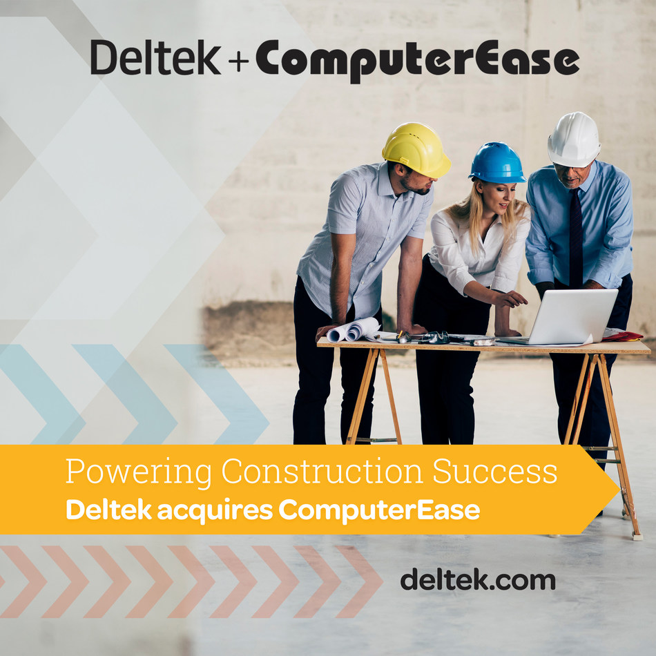 Deltek completes its acquisition of ComputerEase!