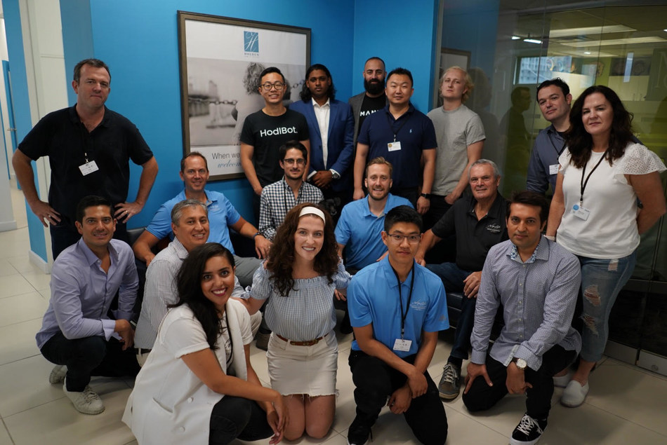 The 2019 cohort kicks off at the Holt Fintech Accelerator in Montreal (CNW Group/Holt Fintech Accelerator)