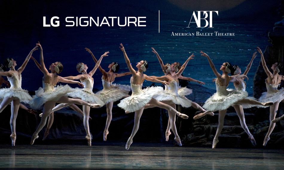 nyaste kollektion professionell försäljning nya specialerbjudanden LG's Alliance With American Ballet Theatre Elevates 'LG SIGNATURE ...