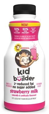 Borden Kid Builder (Strawberry 12 oz.)