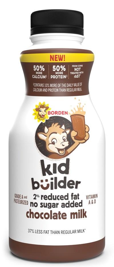 Borden Kid Builder (Chocolate 12 oz.)