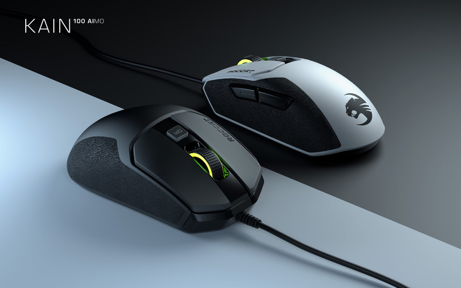 The Kain 100 is ROCCAT's all-new entry-level PC gaming mouse and will have a $49.99 MSRP when it launches in Sept. 2019.