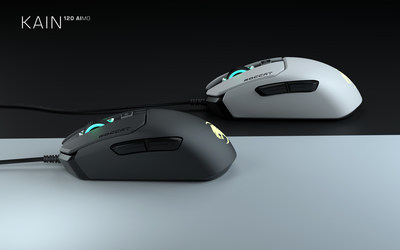 ROCCAT's Kain 120 is the upgraded sensor variant of the all-new line of PC gaming mice, featuring an updated sensor and a unique anti-wear performance coating, and will be available in Sept. 2019 for a MSRP of $69.99.