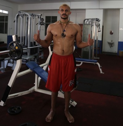Mizo Amin Working Out in his off season