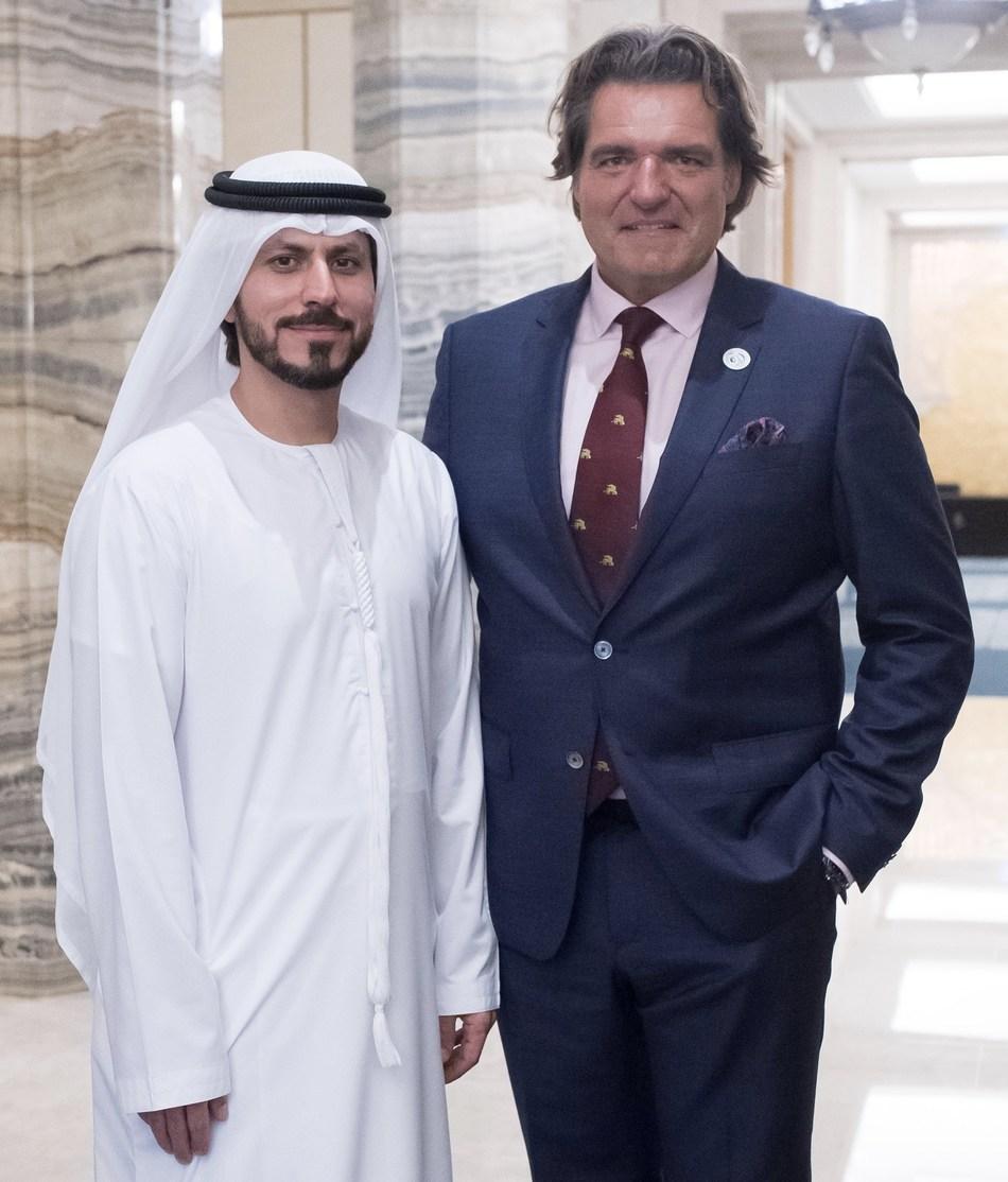 Mohamed Al Ali, CEO & Advisor of Sheikh Ahmed Al Maktoum International Investments Enterprise, UAE and Sir Anthony Ritossa, Chairman of Ritossa Family Office