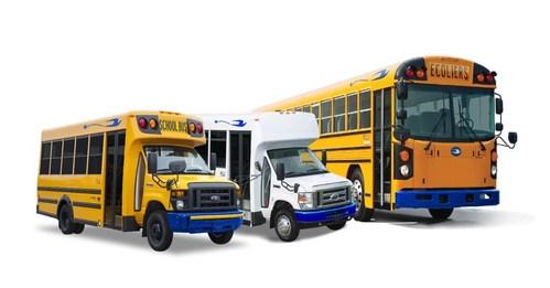 Flottes de véhicules électriques Girardin (Groupe CNW/Girardin Autobus Inc)