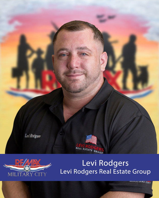 Levi Rodgers, Broker/Owner of RE/MAX Military City.