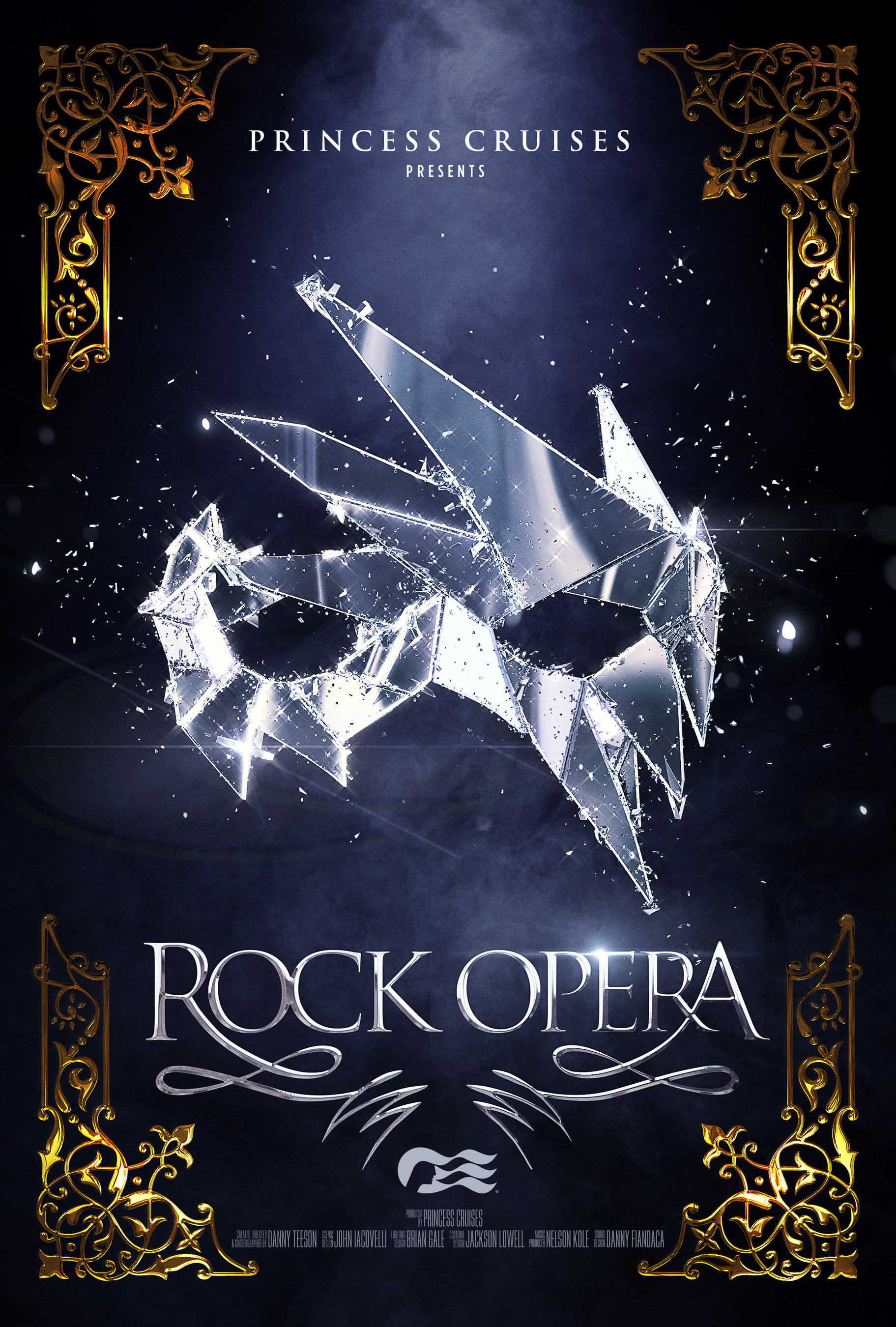 "High Fashion Meets Rock Music in Princess Cruises New Production Show ""Rock Opera"", debuting onboard Sky Princess & Enchanted Princess"