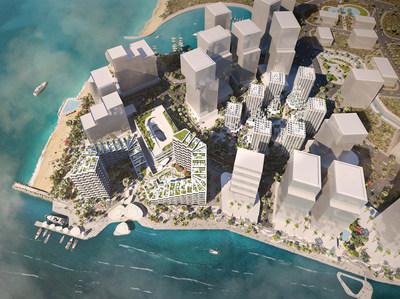 IMKAN's 18-hectare flagship project in Abu Dhabi - Makers District (PRNewsfoto/IMKAN)